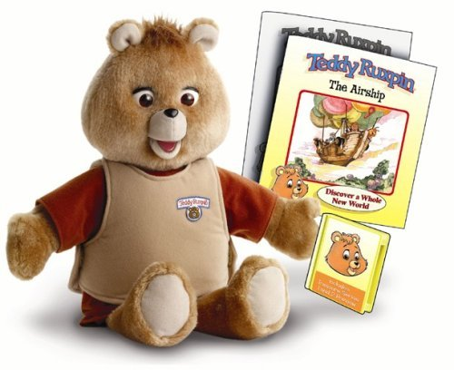 Teddy Ruxpin 1985 lot of 6 books